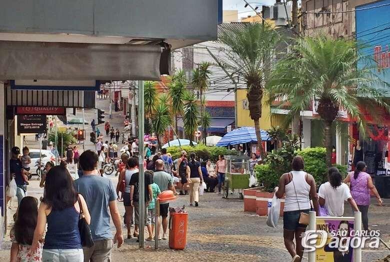 Dia dos Pais em São Carlos deve ter aumento de até 5% nas vendas - Crédito: Arquivo/SCA