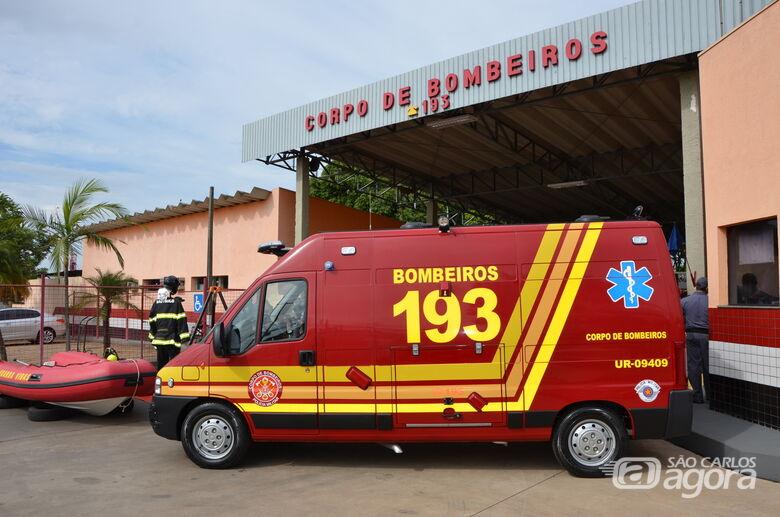 Prefeitura vai entregar novo caminhão ao Corpo de Bombeiros - Crédito: Arquivo SCA