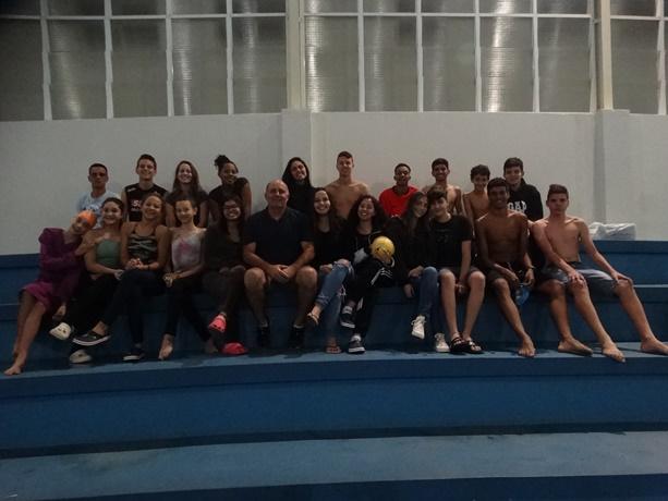 LCN/Aquário Fitness reinicia treinos com uma atividade bem diferente - Crédito: Marcos Escrivani