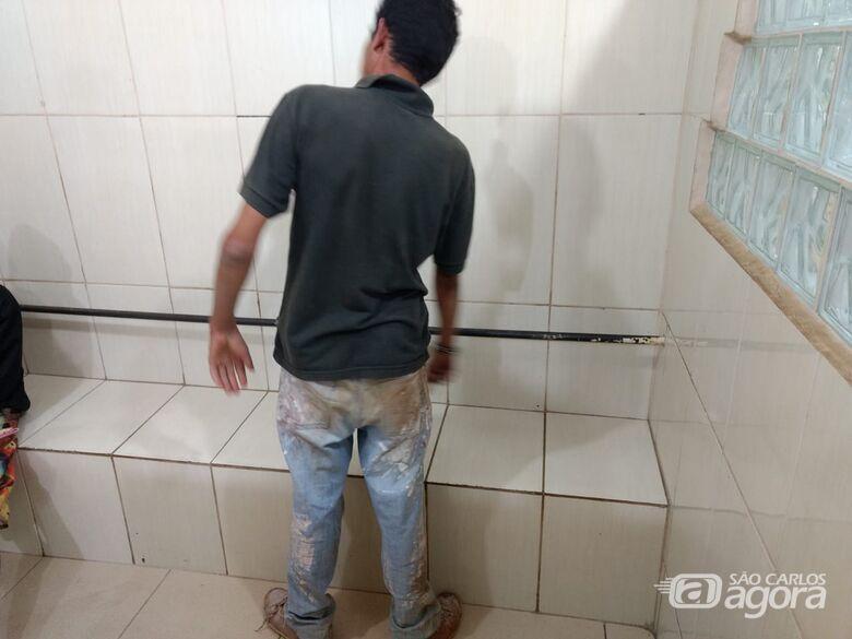 Homem é detido após ameaçar matar a esposa - Crédito: Luciano Lopes