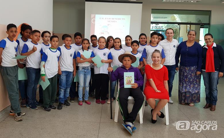 Escola Municipal de Ibaté celebra Dia dos Avós - Crédito: Divulgação