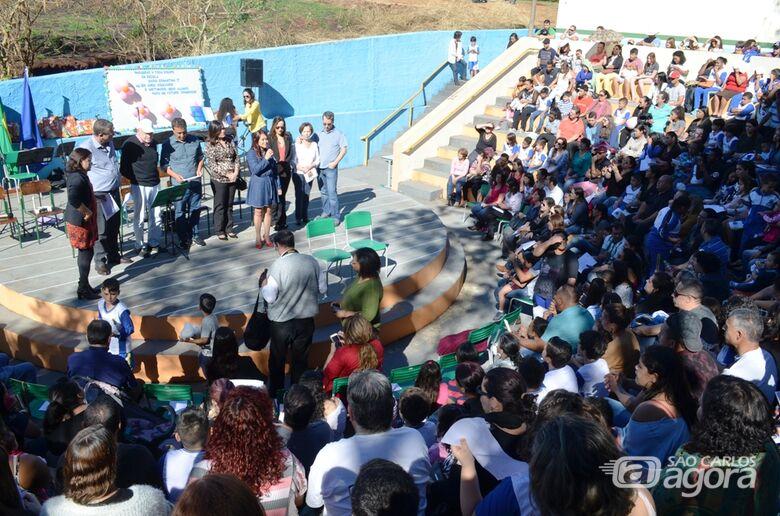 Escola Municipal completa 20 anos em São Carlos - Crédito: Divulgação