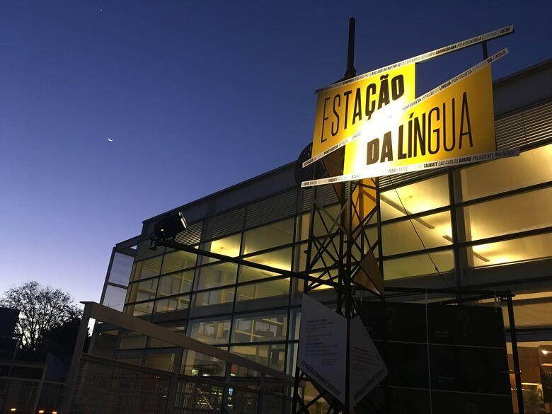 """""""Estação da Língua Portuguesa"""" é atração no Teatro - Crédito: Divulgação"""