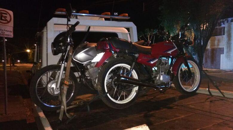 Dupla é detida com motos furtadas no Antenor Garcia - Crédito: Divulgação