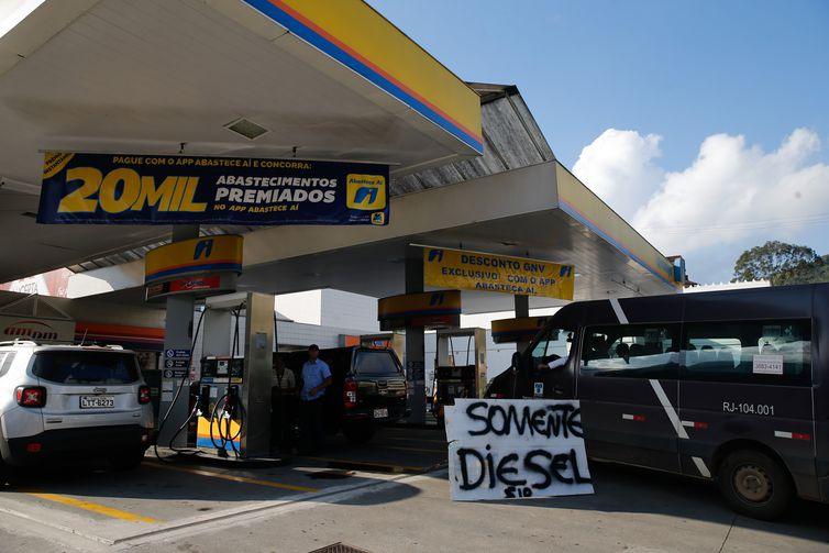 ANP anuncia novos preços para o óleo diesel - Crédito: Fernando Frazão/Agência Brasil