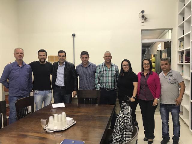 Vereadores Rodson e Lucão recebem representantes de sindicato - Crédito: Divulgação
