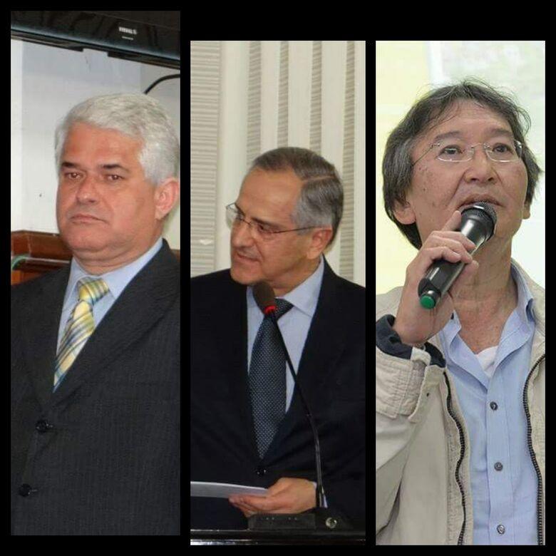 Marquinho, Altomani e Hashimoto: vereador denunciou fraude e envolvidos têm condenação mantida pelo TJ-SP - Crédito: Divulgação