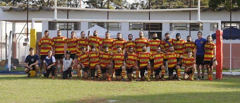São Carlos está classificado para as semifinais do Paulista de Rugby - Crédito: Divulgação