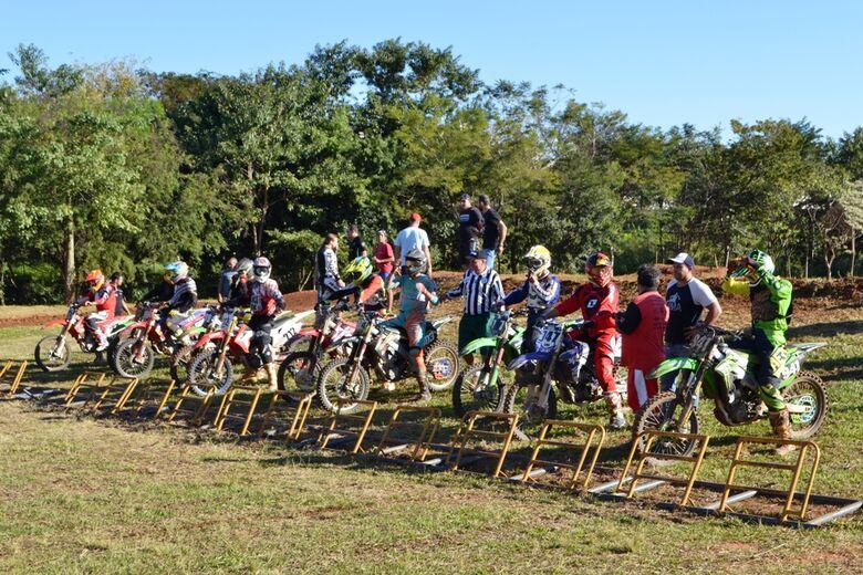 Motocross será a atração do final de semana em Ibaté - Crédito: Divulgação
