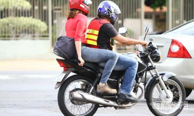 São Carlos pode ter serviço de mototáxi em breve - Crédito: Divulgação