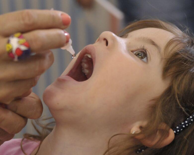 São Carlos imuniza 79% do público alvo contra a Poliomielite e o Sarampo - Crédito: José Cruz/Agência Brasil