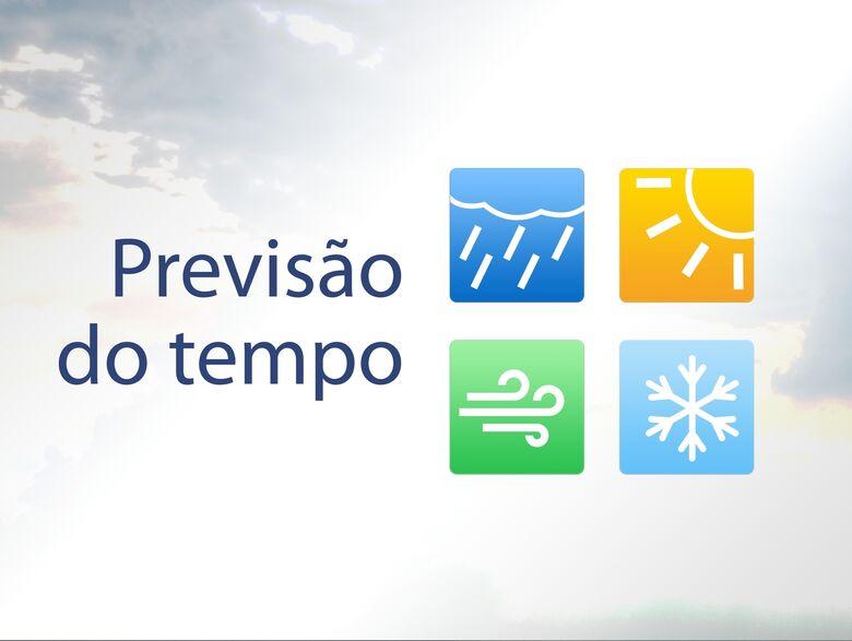 Confira a previsão do tempo para os próximos dias -