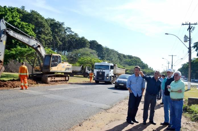 DER finaliza duplicação da rua Coronel José Augusto de Oliveira Salles - Crédito: Arquivo SCA