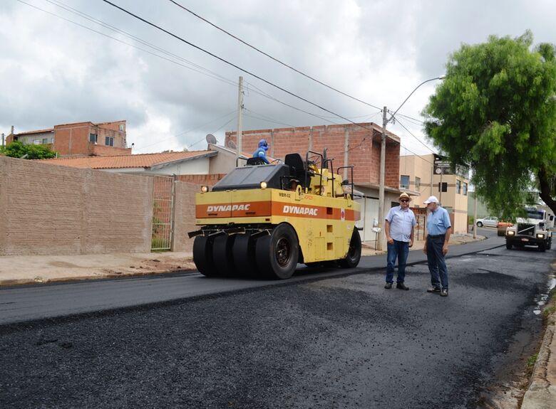 Segunda etapa do recapeamento do Aracy será somente após as eleições - Crédito: Divulgação