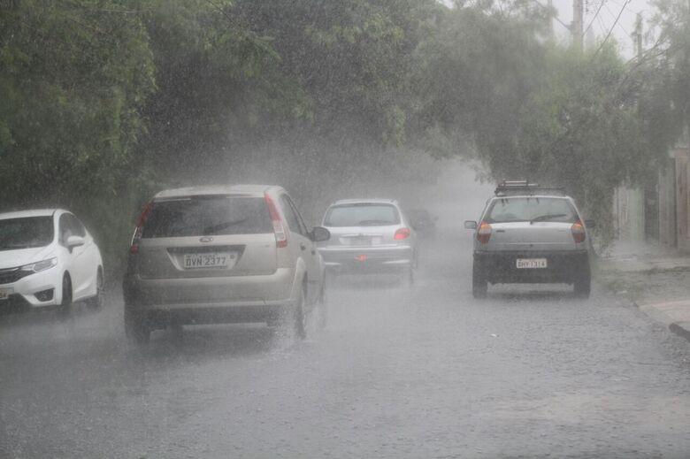 Em um dia, chuva supera média dos últimos 10 anos em agosto; confira a previsão - Crédito: Arquivo/SCA