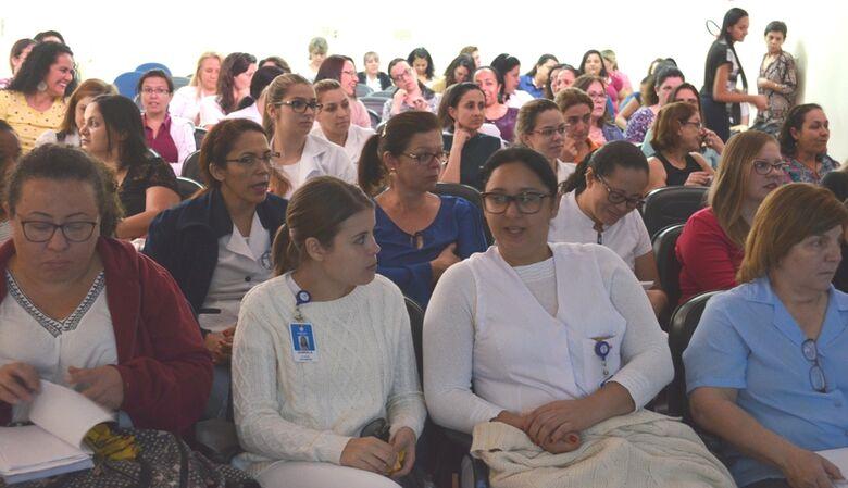 Enfermeiras da atenção básica participam de capacitação sobre teste do pezinho - Crédito: Divulgação