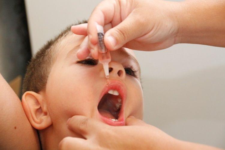 Postos de saúde em Ibaté estarão abertos para vacinação contra pólio e sarampo neste sábado (1º) - Crédito: Divulgação