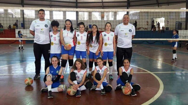 Ibaté estreia bem no Festival LIVOLRP voleibol feminino mirim - Crédito: Divulgação