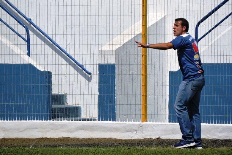 Treinador, no entanto, evita eventual empolgação e pensa somente na próxima partida - Crédito: Gustavo Curvelo/Divulgação