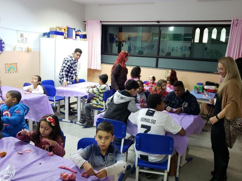 Escola Municipal de Ibaté realiza Festa da Família - Crédito: Divulgação