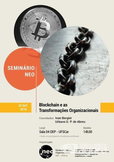 Seminário na UFSCar aborda a tecnologia usada em criptomoedas como o bitcoin -
