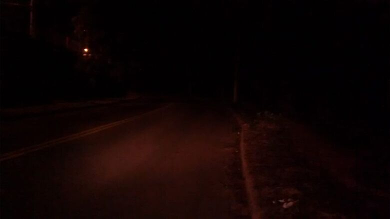 Falta de iluminação deixa moradores inseguros no Jardim Ipanema - Crédito: Divulgação