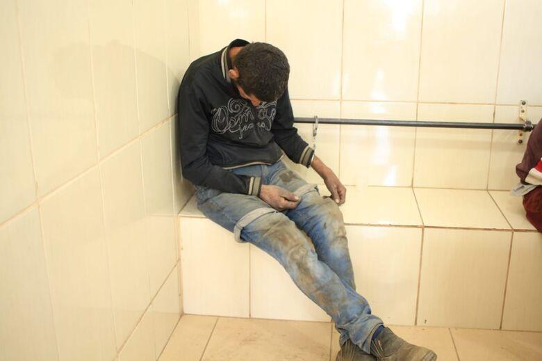 Desocupado é detido e acusado de furto - Crédito: Marco Lúcio
