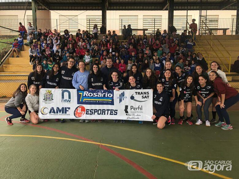 H7 Esportes luta pelo 5º lugar no Paulista e dá exemplo de cidadania em escola municipal - Crédito: Marcos Escrivani