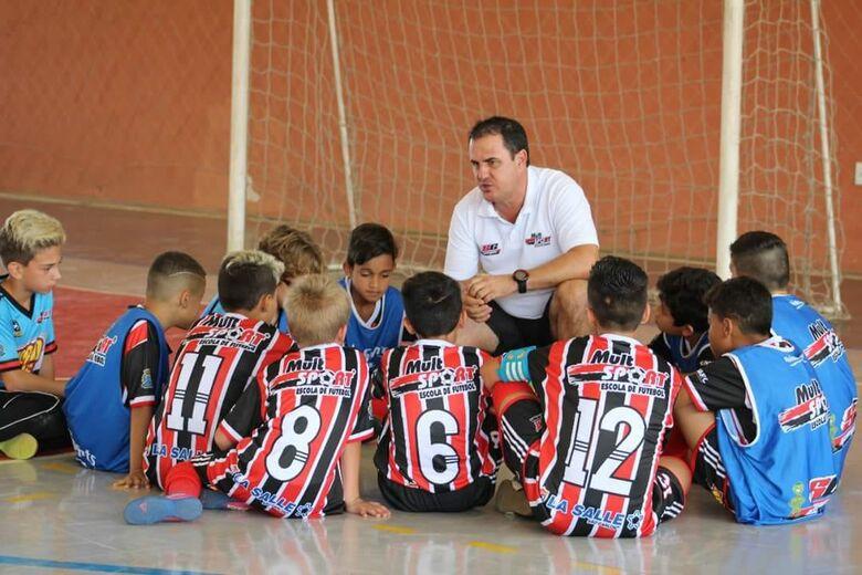 São-carlense participa de Seminário de Futsal em Ourinhos - Crédito: Marcos Escrivani