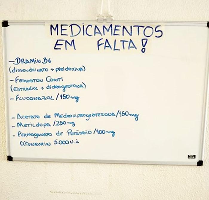 População reclama que falta medicamento na UBS do Cidade Aracy - Crédito: Divulgação