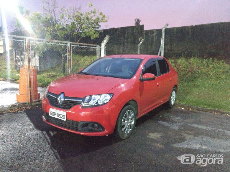 Carro duble é apreendido no Cidade Aracy - Crédito: Luciano Lopes