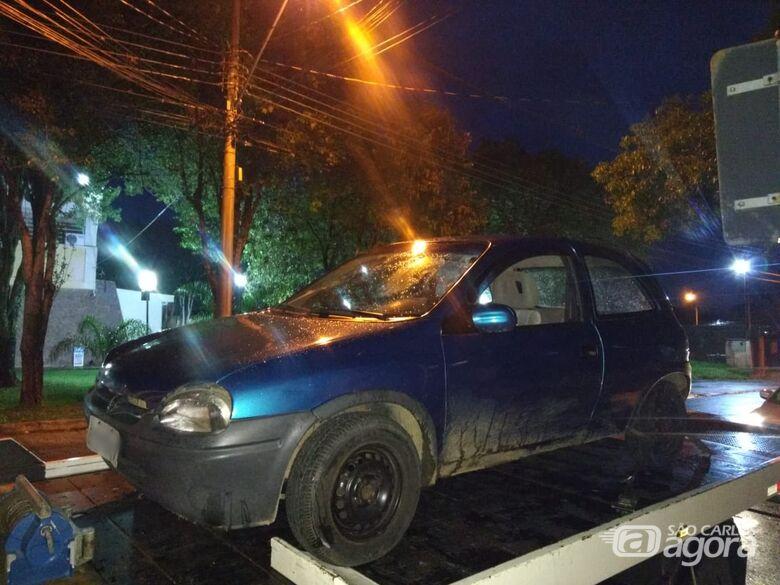 Jovem é detido após ameaçar policial no Santa Angelina - Crédito: Luciano Lopes