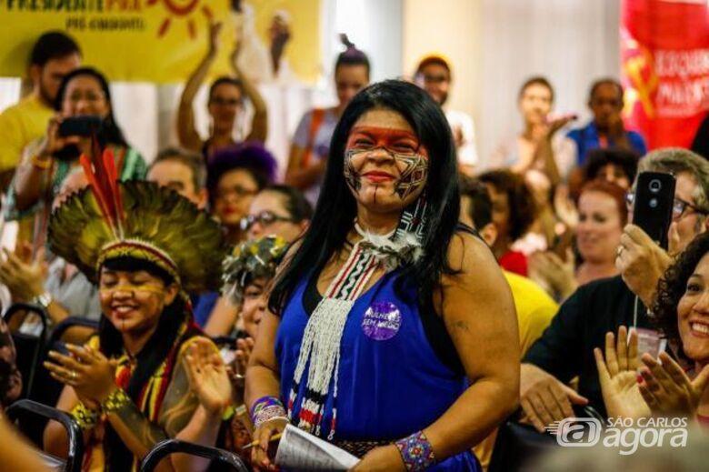 Candidata a vice-presidente da república pelo PSOL visita São Carlos - Crédito: Divulgação
