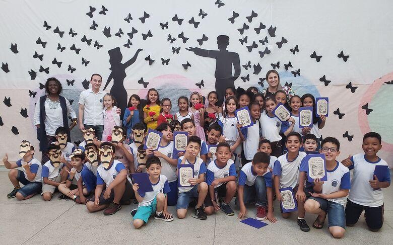 Escola Municipal de Ibaté desenvolve Projeto Leitura - Crédito: Divulgação
