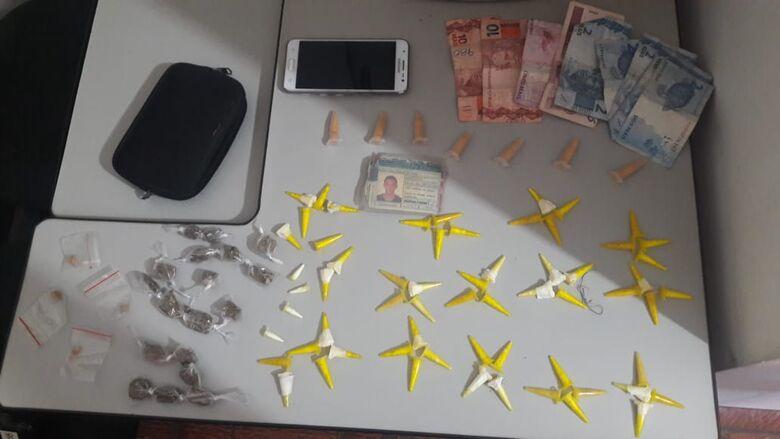 Acusado de tráfico é detido no Antenor Garcia - Crédito: Divulgação