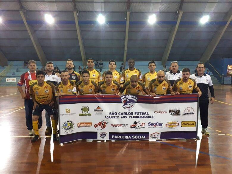 São Carlos Futsal garante vaga na série ouro da Copa Record - Crédito: Marcos Escrivani
