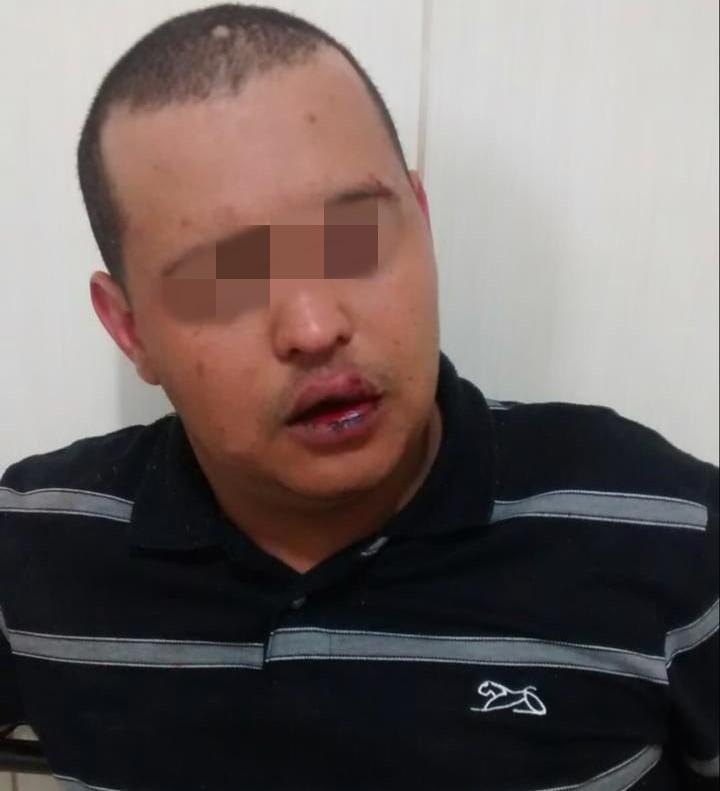 Após roubar veículo, ladrão resiste à prisão - Crédito: Divulgação