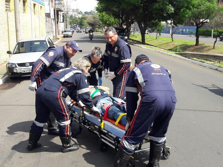 Acidente deixa dois feridos no Jardim Lutfalla - Crédito: Maycon Maximino