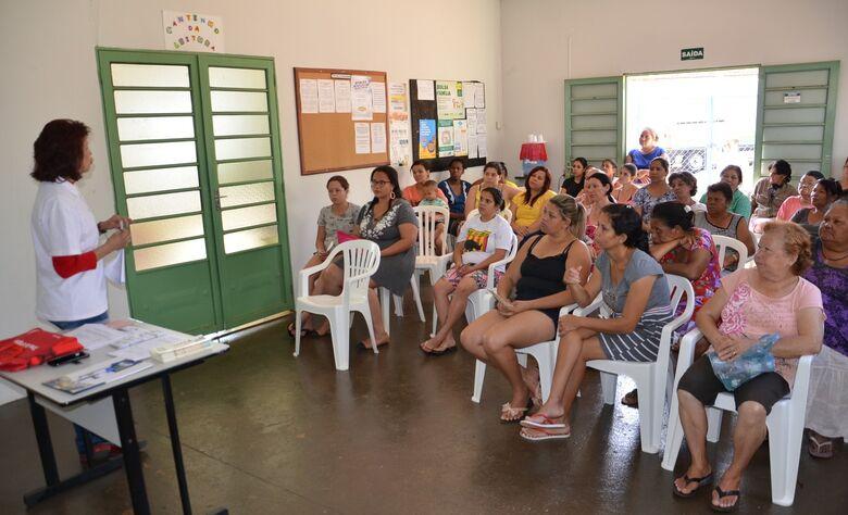 Ação socioeducativa orienta população de Santa Eudóxia sobre mercado de trabalho - Crédito: Divulgação