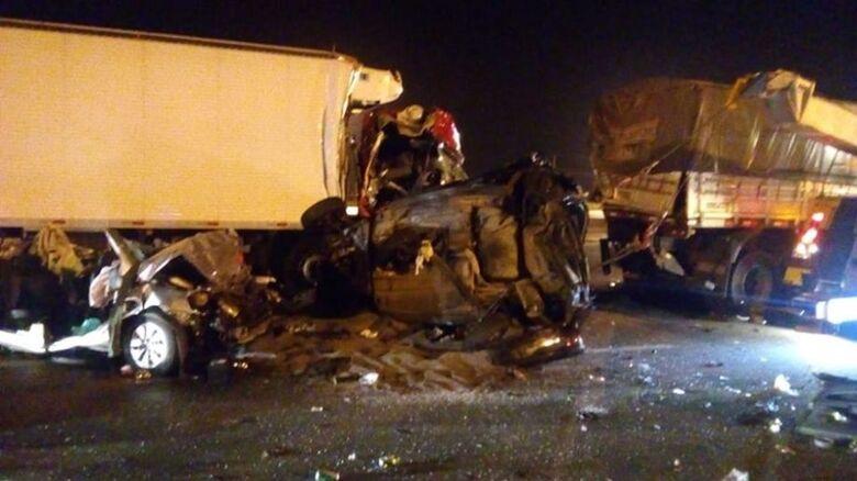 Acidente em rodovia mata pai e filha de cinco anos - Crédito: Divulgação/ O Liberal