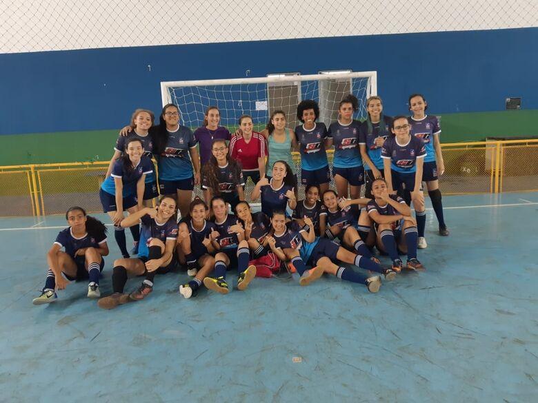 Meninas da Asf São Carlos estreiam no Estadual Infantil e sonham alto - Crédito: Marcos Escrivani