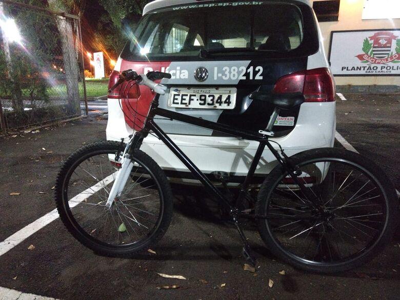 Ao tentar furtar bike, ladrão apanha em Ibaté - Crédito: Luciano Lopes