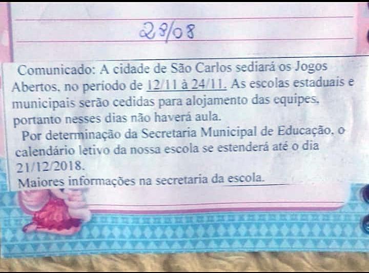 Polêmica permanece e mães mostram insatisfação com alteração nos dias das aulas em Cemeis e Emebs - Crédito: Divulgação
