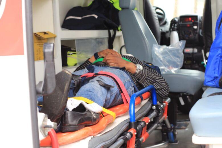 Colisão traseira deixa motociclista ferido no Santa Paula - Crédito: Marco Lúcio
