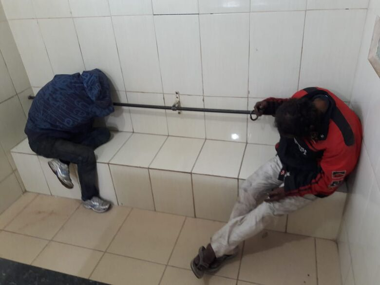 Após furto, dupla é detida pela Polícia Militar - Crédito: Maycon Maximino