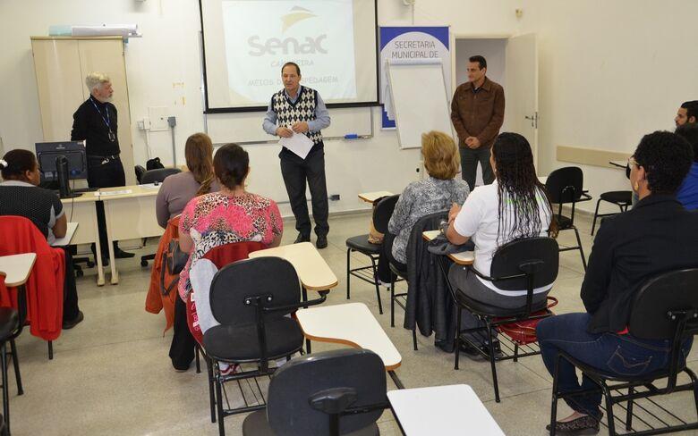 SMTER e Senac iniciam novo curso de capacitação - Crédito: Divulgação