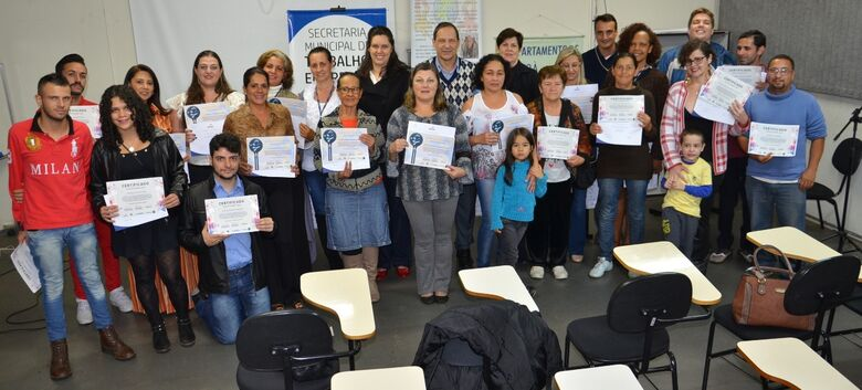 SMTER e Senac certificam novos alunos para o mercado de trabalho - Crédito: Divulgação