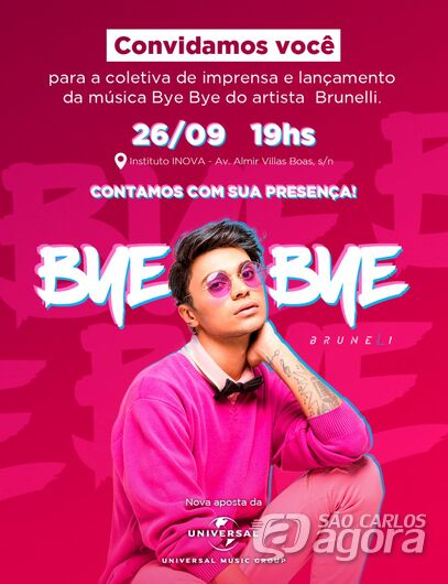 Instituto Inova sediará lançamento do primeiro lyric vídeo de cantor são-carlense -
