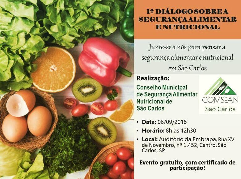 Segurança alimentar e nutricional será discutida em evento na quinta-feira -