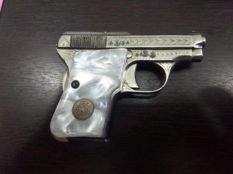 Após abordagem no calçadão, PM encontra arma na casa de suspeito - Crédito: Divulgação